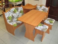 Кухонный уголок аленка 1 (цветы)