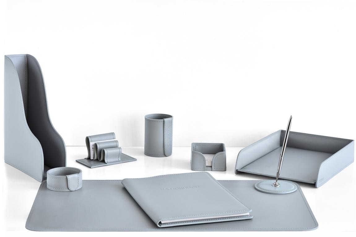 набор руководителя на стол с папкой А4 цвет серый