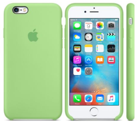 iPhone 6/6s Silicone Case  Зеленый
