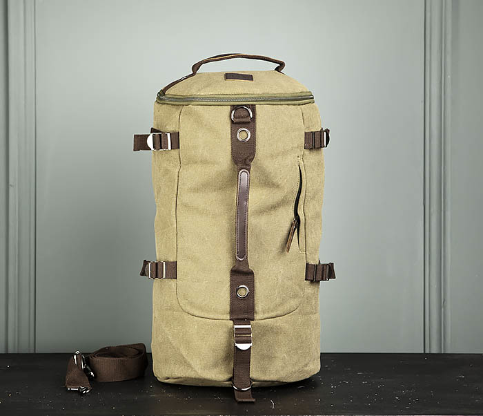 BAG309-3 Мужская сумка сумка рюкзак из плотного текстиля фото 01