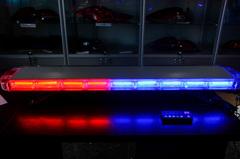 Спец.сигнал ДПС E207 (на крышу 1050мм),(red-blue)+пульт управления, шт