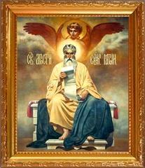 Матфей Святой апостол и евангелист. Икона на холсте.