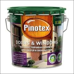 Древозащитное покрытие Pinotex DOORS & WINDOWS (калужница)