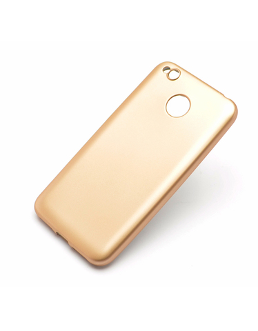 Чехол Xiaomi 4X пластик Soft touch Gold