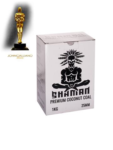 Уголь кокосовый «Shaman», 25 мм (72 шт., 1 кг.)
