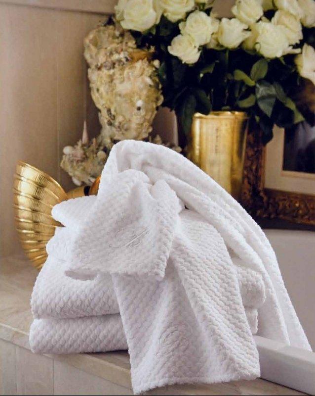 Набор полотенец 2 шт Blumarine Privilegio белый