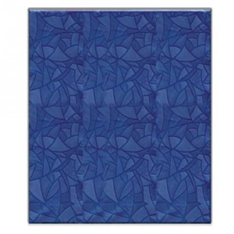 Скатерть ПВХ 120*180см, синяя