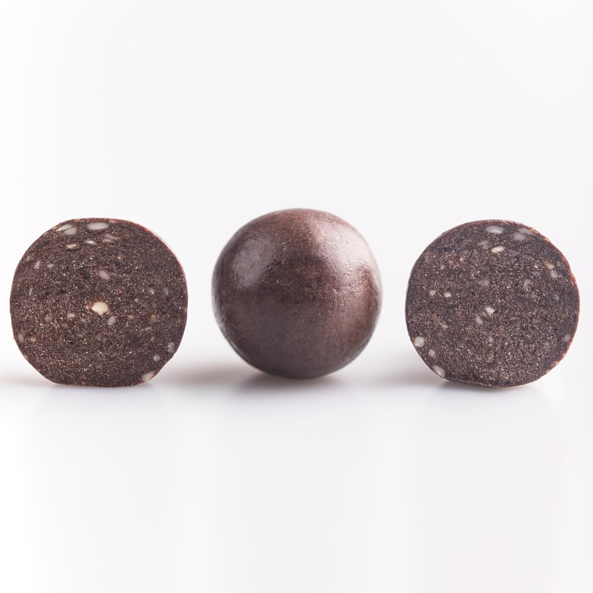 Набор полезных конфет Protein Ball. Апельсин-шоколад (12 упаковок по 2 конфеты)