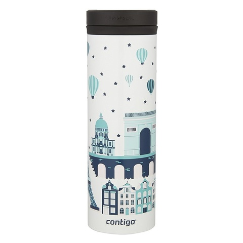 Термокружка Contigo TwistSeal Eclipse White Paris