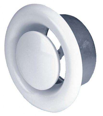 Анемостат Airone DVS 200  вытяжной стальной