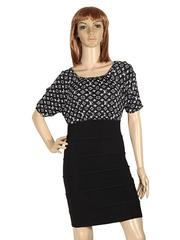790-3 платье женское, черное
