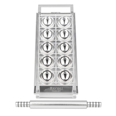 Marcato Ravioli Tablet silver mould for home-made ravioli (or stuffed pasta)