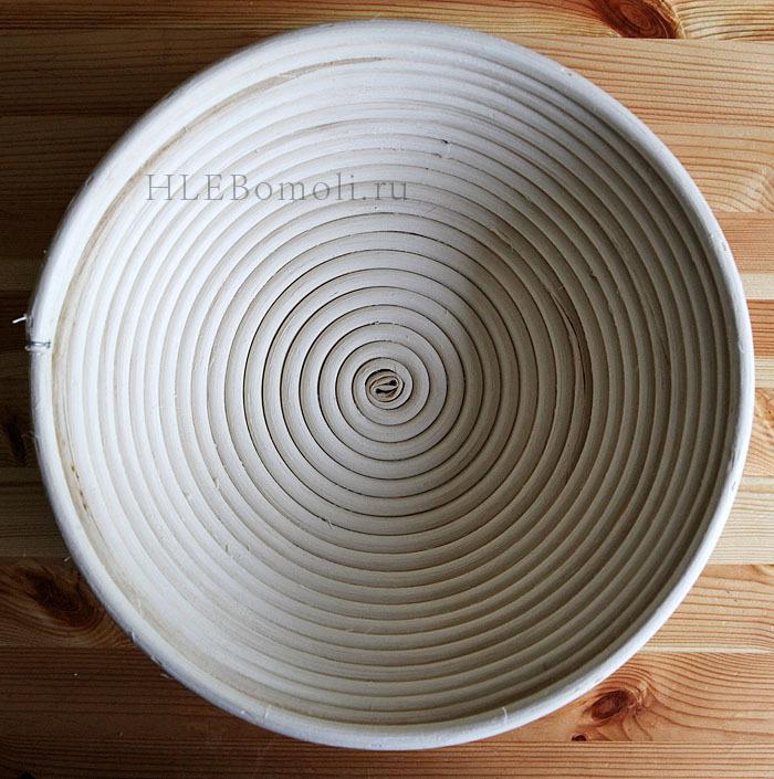 Корзинка для расстойки теста из ротанга (19)