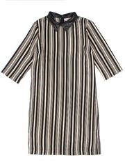 GDR010452 Платье женское, черно-белое