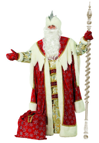 Дед Мороз Королевский красный Аренда 1 сутки