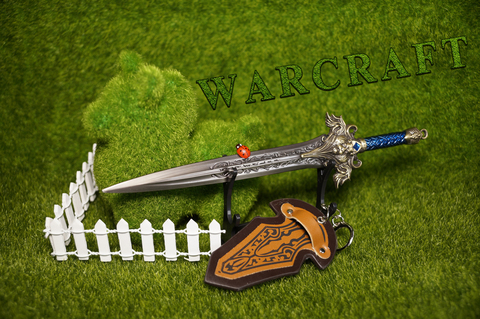 World Of Warcraft Alliance Sword Metal