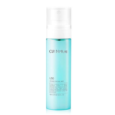 Мист с аминокислотами и витаминами CU:NATURE L50 Hydro Facial Mist