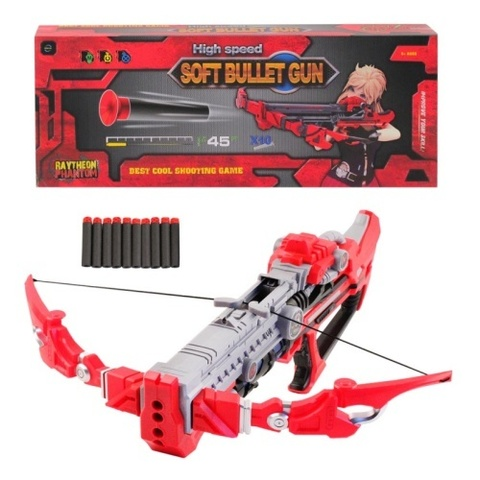 Бластер-арбалет Jumbo 201024 Soft Bullet Gun с мягкими пулями