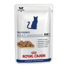 Royal Canin NEUTERED Adult Maintenance диетический влажный корм для стерилизованных кошек до 7лет 100 гр соус