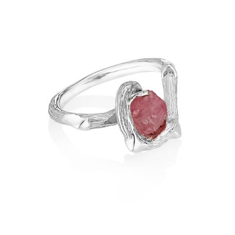 Кольцо ORIGIN - Розовая шпинель