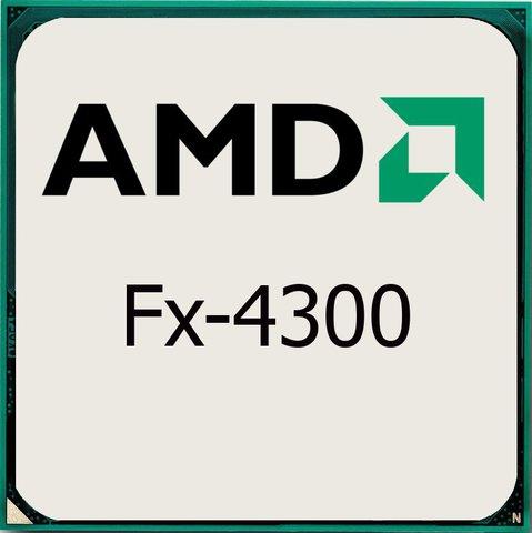 процессор AMD S-AM3+ FX-4300 (3,8GHz/4,0GHz)4C/4Th 4mb Cache oem