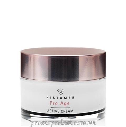 Histomer Hisiris Pro Age Active Cream SPF10 - Крем активный