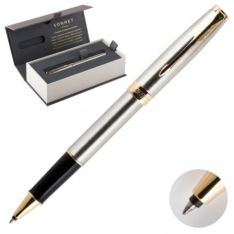 1931506 Parker Sonnet Stainless Steel GT Ручка-роллер