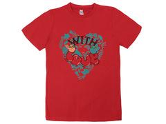 18059-13 футболка для девочек, красная