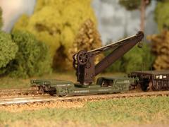 2-осный жд Кран строит. поезда, DR, (IV Эп.)
