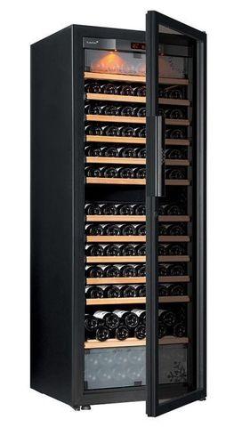 Винный шкаф EuroCave E-Pure-L стеклянная дверь Full Glass, цвет чёрный, максимальная комплектация