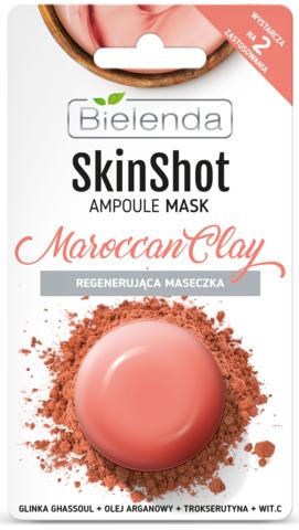 SKIN SHOT Восстанавливающая маска Марокканская глина, 8 г