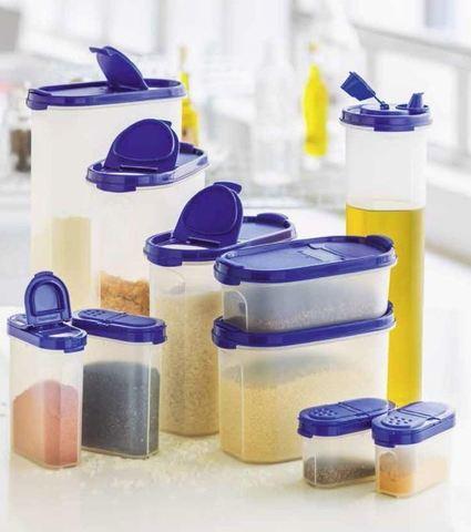 набор компактусов и контейнеров для специй