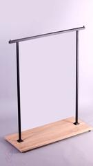 Бэст-1503 Стойка вешалка (вешало) напольная для одежды
