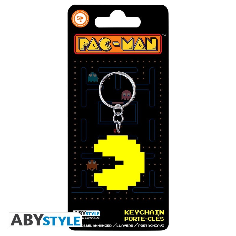 Брелок ABYstyle: PAC-MAN: Pac-Man ABYKEY195