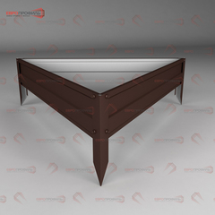 Клумба треугольная 0.6м