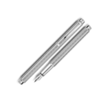 Carandache Ecridor Chevron PP (F) латунь палладиевое покрытие перо сталь (958.276)