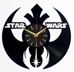 Звездные войны Часы из Пластинки — Герб Альянса Орден Джедаев