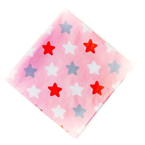 Салфетка 70*70 (большая) розовая