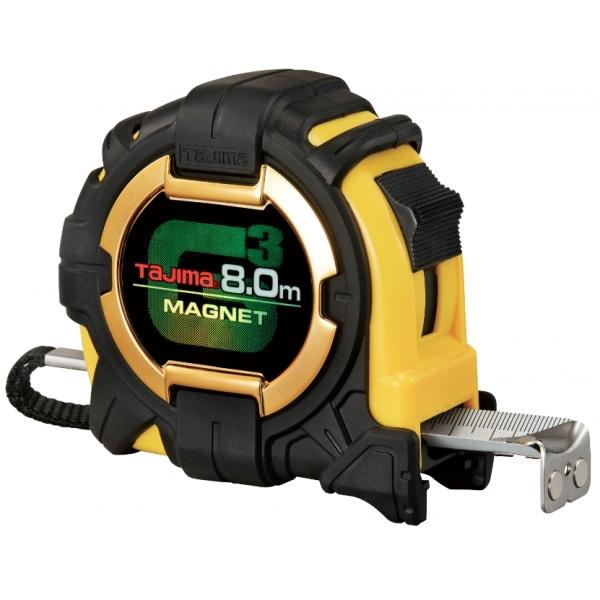 Рулетка 8м G3 Lock 27 Tajima G3M780MT