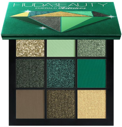HUDA BEAUTY Obsessions Emerald палетка теней