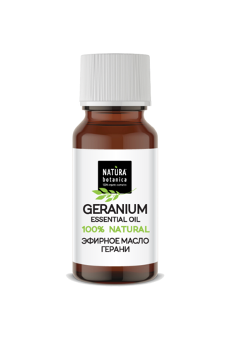 Эфирное масло герани, 10 мл (Natura Botanica)