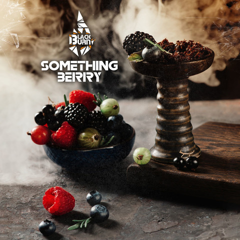 Табак Burn Black Something Berry (Что-то ягодное) 100 г