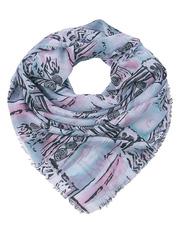 FC815-1-9 платок женский, розовый