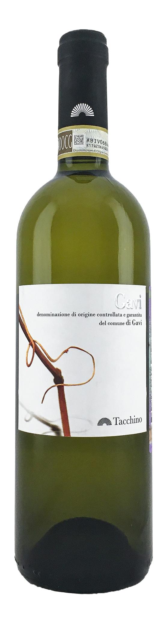 Вино Гави дель Комуне ди Гави сухое белое з.н.м.п. категория DOCG, регион Пьемонт 0,75л.