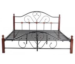 Кровать FD 802 200x180 (King MK-1910-RO металл) Темная вишня