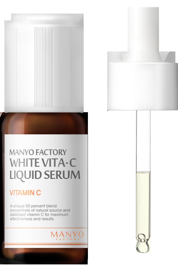 Купить Осветляющая Сыворотка с Витамином С MANYO FACTORY White Vita C Liquid Serum
