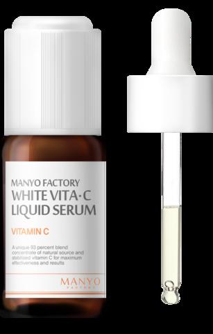 Осветляющая Сыворотка с Витамином С MANYO FACTORY White Vita C Liquid Serum