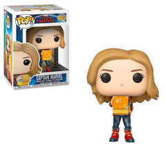 Funko pop! captain marvel: captain marvel with lunchbox