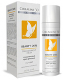 Крем для лица BEAUTY SKIN NIGHT с витаминным комплексом, ночной, Medical Collagene 3D