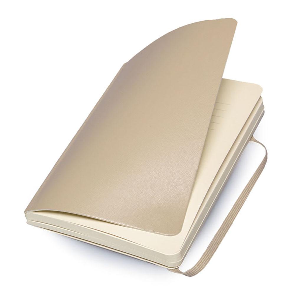 Блокнот Moleskine Classic Soft Pocket, цвет бежевый, без разлиновки